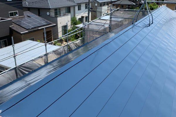 新潟市秋葉区 K様邸 屋根塗装工事